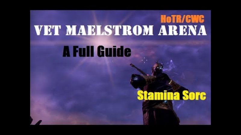 ESO CLOCKWORK CITY: HOW TO BEAT VET MAELSTROM ARENA -VERY EASY-