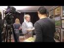 Видеосъемка на Первом канале Телекафе передача Блин ком Ведущая Елена Сажина