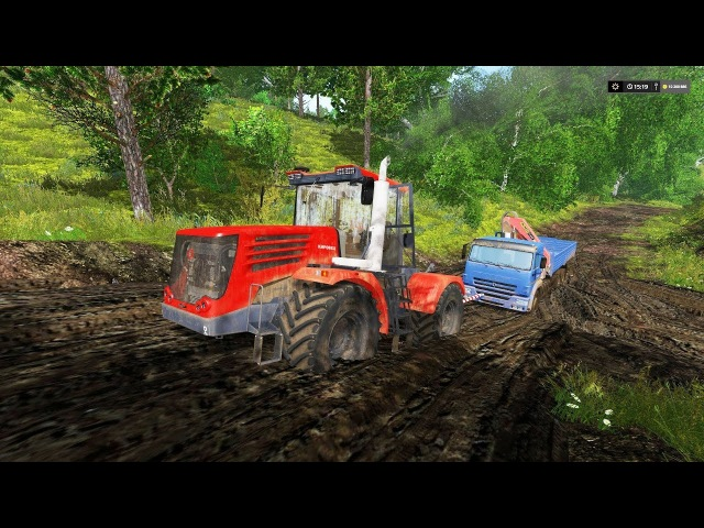 МОД ТРАКТОР К744 V2 ДЛЯ FARMING SIMULATOR 2017