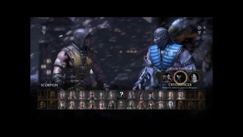 Mortal Kombat X - Scorpion Vs Sub-Zero [PS4]