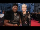 BAFTA Awards 2018 : Andrea Riseborough & Phyll Opoku-Gyimah Interview