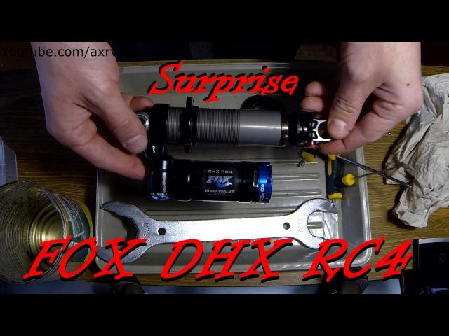FOX DHX RC4 shock inspection - FOX SHOX