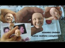 ROSTO REALISTA COM CRÂNIO COMPLETO JLS LUIZ COSTA