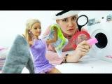 Барби постирала записку с телефоном Кевина. Видео с куклами