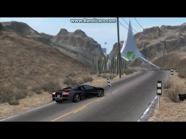 Epic Fail на Lamborghini Murcielago