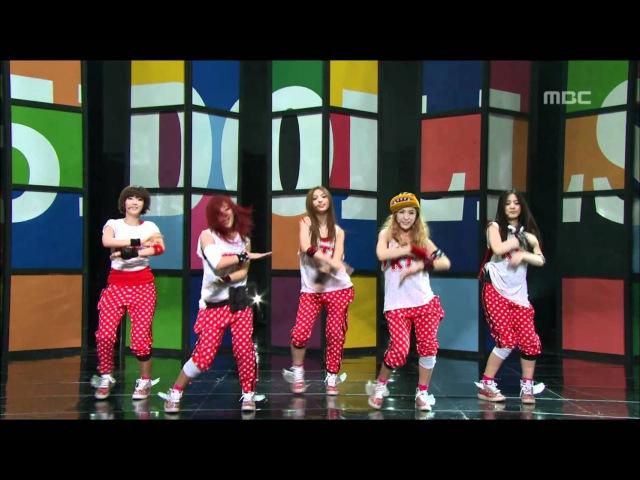 5dolls - It's You(feat. T-ARA), 파이브돌스 - 너 말이야(feat. 티아라), Music Core 201102