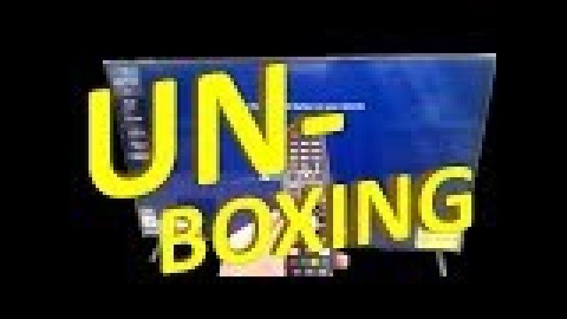LG UHD TV 55UJ630V unboxing