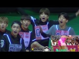 B.A.P &amp KNK reaction to WJSN Cheng Xiao during ISAC Rhythmic Gymnastics