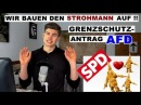 SPD lehnt Grenzschutz ab! ► AfD will Deutschland einmauern??