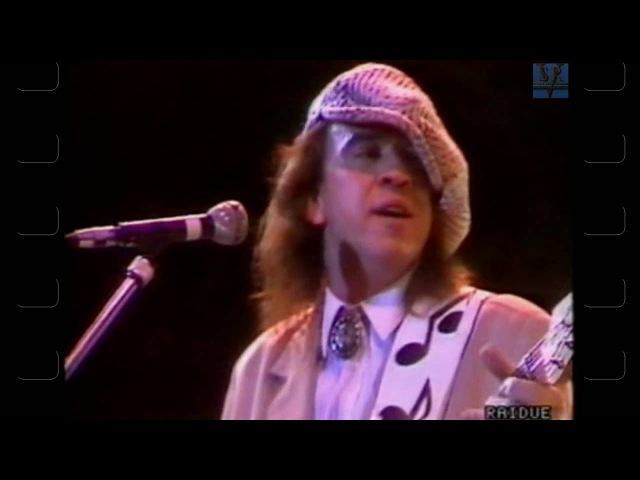 Stevie Ray Vaughan - Complete show at Pistoia Blues Festival,Italy 7. 3. -1988