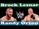 Brock Lesnar vs Randy Ortan SummerSlam RKO Head Broken wwe Raw 23rd August 2016