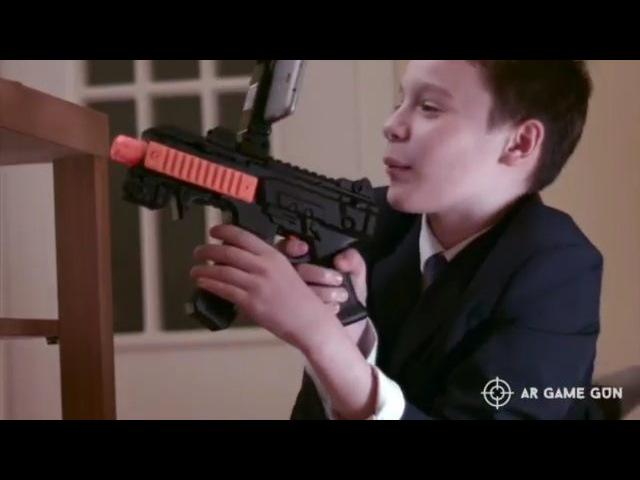 ИГРА ДОПОЛНЕННОЙ РЕАЛЬНОСТИ-СУПЕР ТЕХНОЛОГИИ AR GAME GUN