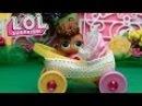 Как сделать коляску для кукол LOL Surprise . Коляска из киндер сюрприза. КУКЛЫ ЛОЛ СЕС