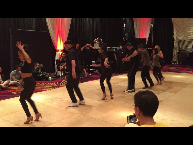 Reno Latin Dance Festival 2018 Yamulee Extremely Advanced Partnerwork Workshop