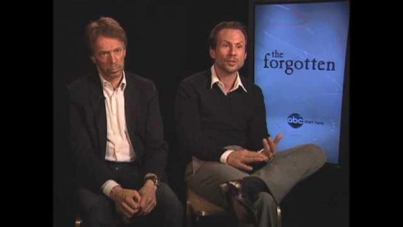 Jerry Bruckheimer and Christian Slater - The Forgotten - John Doe Murders