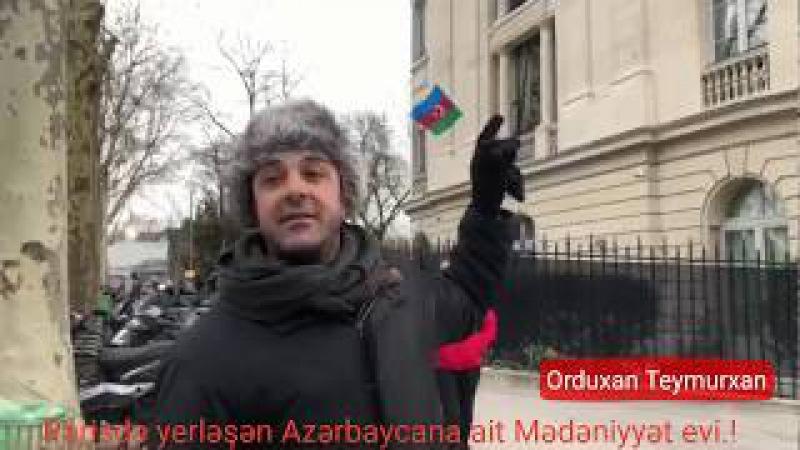 Azərbaycan vətandaşlarına ait pulları bu cür mənimsəyib göyə sovururlar. ORDUXAN TEYMURXAN PARİS-dən