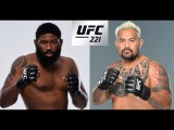 UFC 221: MARK HUNT vs CURTIS BLAYDES