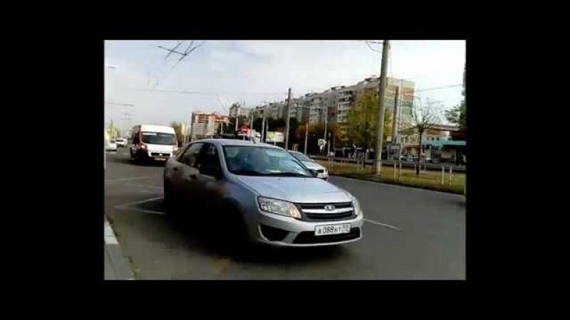 Нервный таксист Краснодар 25 Октября 2017 (18)