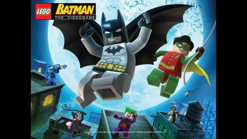 LEGOBatman The videogame Эпизод 3-3.Полёт летучей мыши