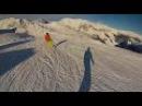 На сноуборде с ледника Хинтертукс