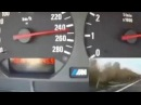 BMW m3 le 270 basıyor 270 km hız