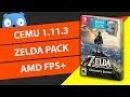 Скачать CEMU 1.11.3 (Zelda на ПК)