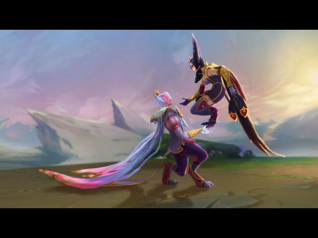 Любовь – это поле боя на средней линии   League of Legends: Трейлер образов