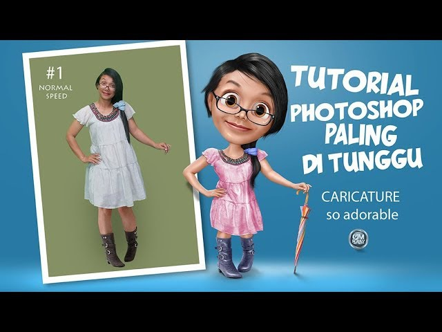PHOTOSHOP ELEMENTS CARICATURE 1 how to make caricatur cute
