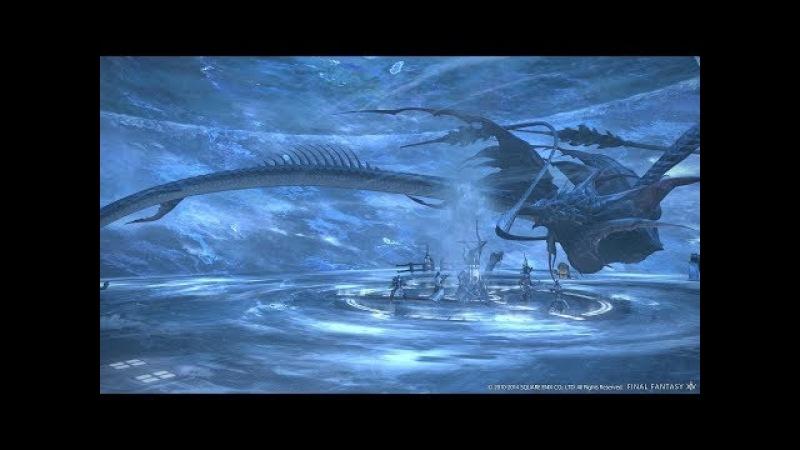 Битва с богом Левиофан. Левиофан просто гигантских размеров!