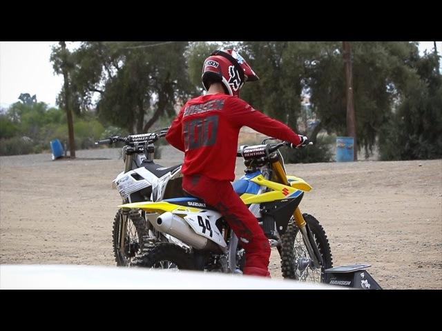Josh Hansen First Time On 2018 Suzuki RMZ-450   TransWorld Motocross