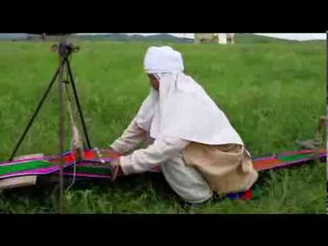 Декоративно прикладное искусство казахов Ткачество и ковроделие RU