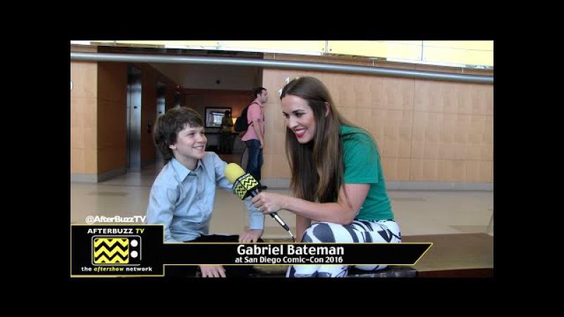 Gabriel Bateman (American Gothic) at San Diego Comic-Con 2016