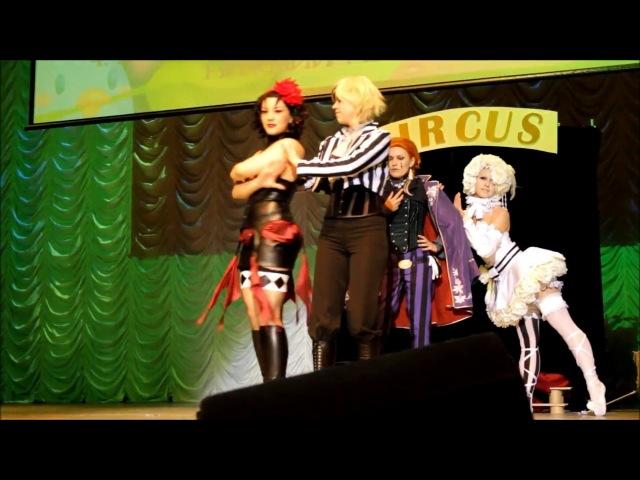 Black Butler - Noahs Ark Circus Cosplay Performance (Ichiharu 10)