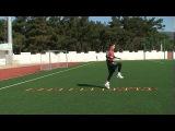 Football coaching video - soccer drill - ledder coordination (Brazil) 2