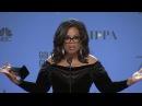 Oprah Winfrey   2018 Golden Globes   Full Backstage Speech