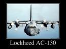 Ударный самолет AC-130 Спектр