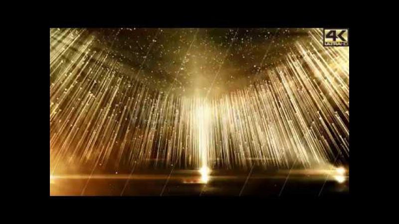 Golden Stage Awards Version 4K Background loop