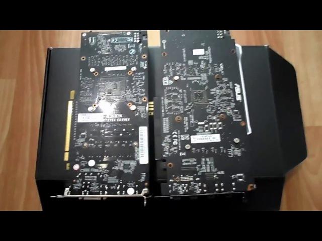 Asus GTX 1060 Dual 3GB VS Palit GTX 1060 Dual 3Gb :1ч. - Визуальное сравнение.