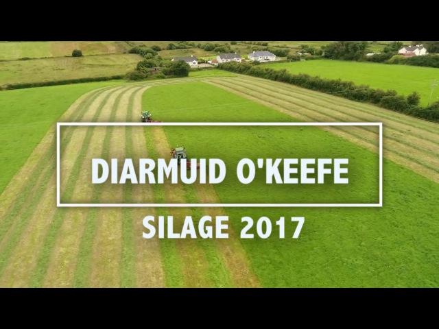 Diarmuid O Keeffe Silage Kerry, Ireland 2017