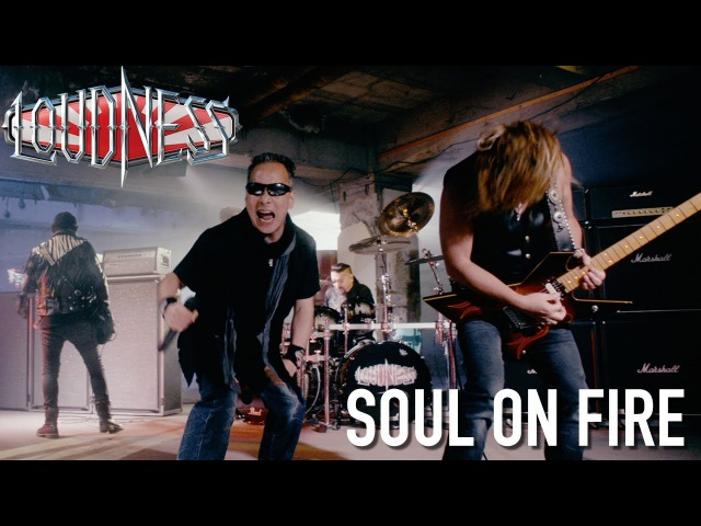 LOUDNESS - Soul On Fire