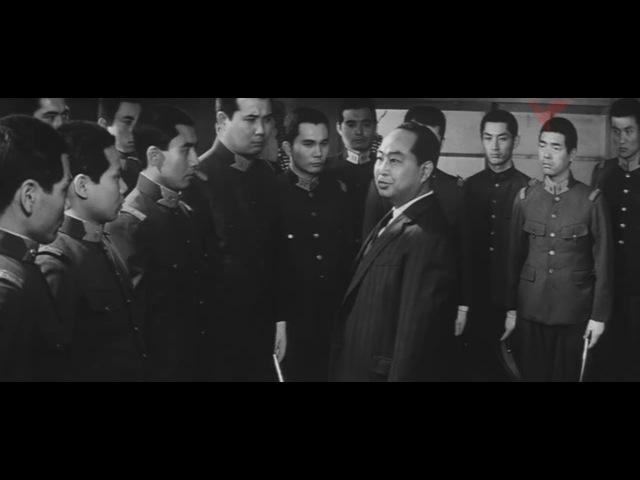 Nakano Spy School aka Rikugun Nakano gakko (1966) - Raizo Ichikawa