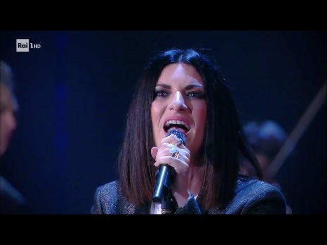 Laura Pausini canta Non è detto - Che tempo che fa 18032018