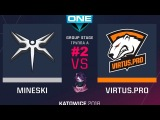 VP vs Mineski RU #2 (bo3) ESL One Katowice 2018 Major Group A 20.02.2018