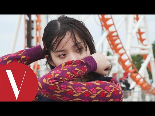 歐陽娜娜紐約玩時尚|201801封面人物backstage|Vogue Taiwan
