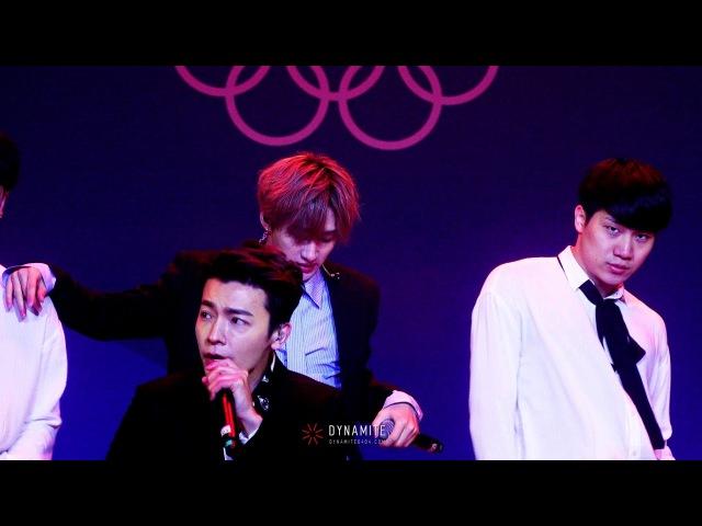 180224 평창올림픽 헤드라이너쇼 :: 너는 나만큼 (Eunhyuk focus)