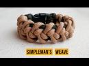 Браслет из паракорда Simpleman's Weave