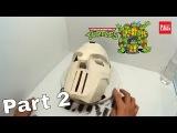 DIY TMNT Casey Jones Mask Part 2 - Finishing