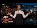 Jennifer Lawrence's Guest Host Monologue on Jimmy Kimmel Live