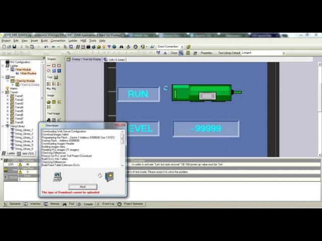 Unitronics: удалённое подключение и webserver с помощью роутера RUH2b (Radiofid) по 3G. Часть 2