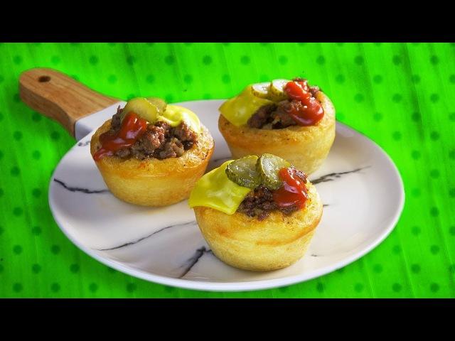 Бургер-Кексы: Оригинальный Рецепт Сочных Домашних Чизбургеров